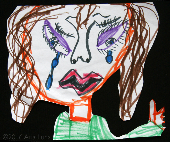 Girl with Tears