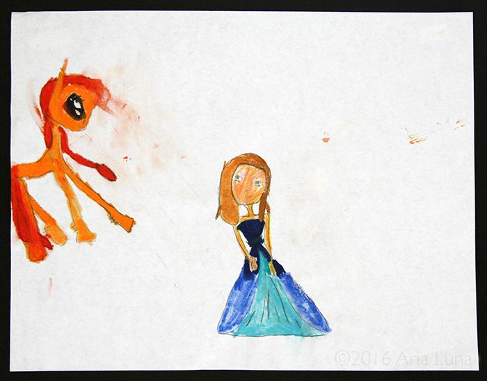 Princess and Pony