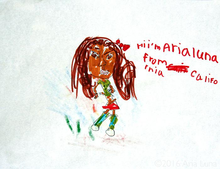 Aria Luna from CA