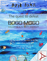 Bogo Mogo coloring booklet