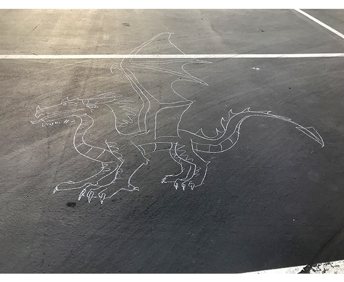 Chalk Dragon 3