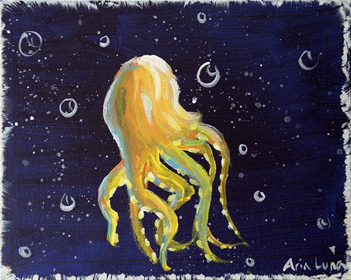 Pineapple Octopus