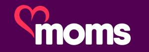 Moms.com logo